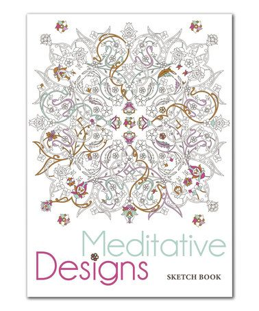 Loving This Meditative Designs Coloring Sketch Book On