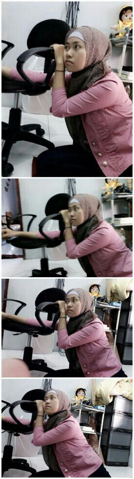 My boyfriend took pictures of mine and made this for me. Selo banget.