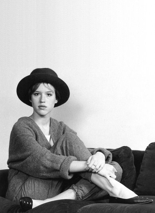 Molly Ringwald photographed by Bob Riha Jr, 1985.