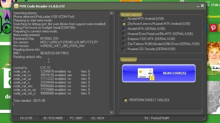liberación / unlock del ZTE Blade L2 con pack 6 de furious box