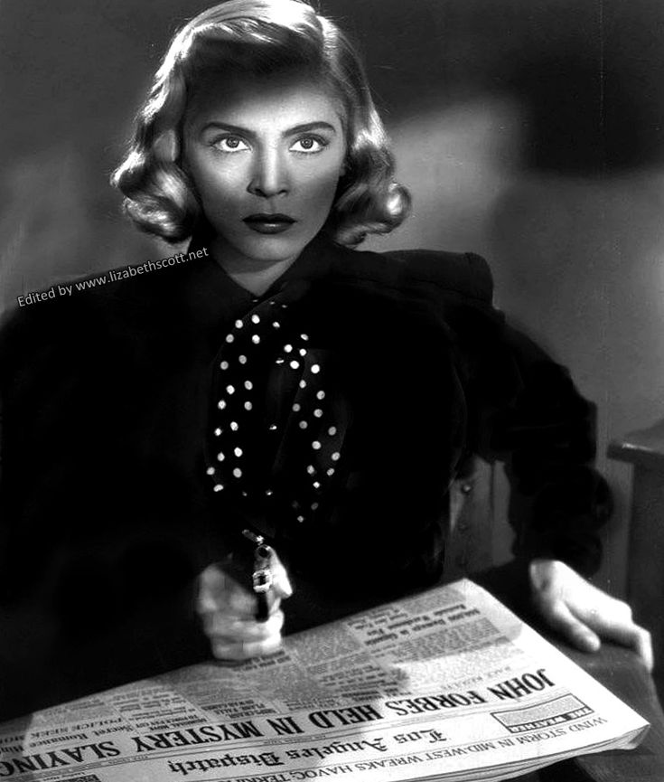 Everything Lizabeth Scott - the one and only Lizabeth Scott in Pitfall, 1948
