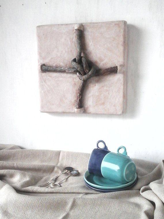 Knoten Skulptur Kunst Keramik Wanddekoration 30. Geburtstag | Etsy   – Bowls/Jars