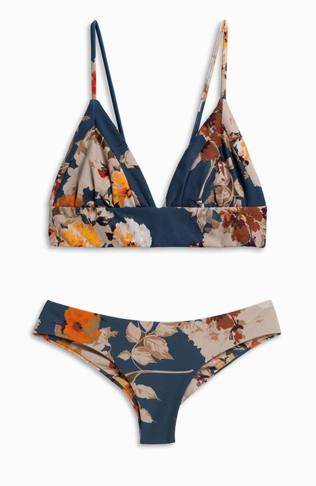 Cool tropical swimsuit for the summer I want to wear this so badly and comment if you have this swimsuit already! @kimberly Rose.