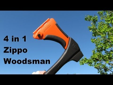 Zippo 4 in 1 Woodsman Review - Friday Finds - YouTube