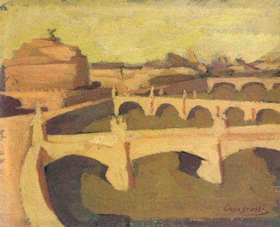 208. Capogrossi, Giuseppe - Roma sul Tevere