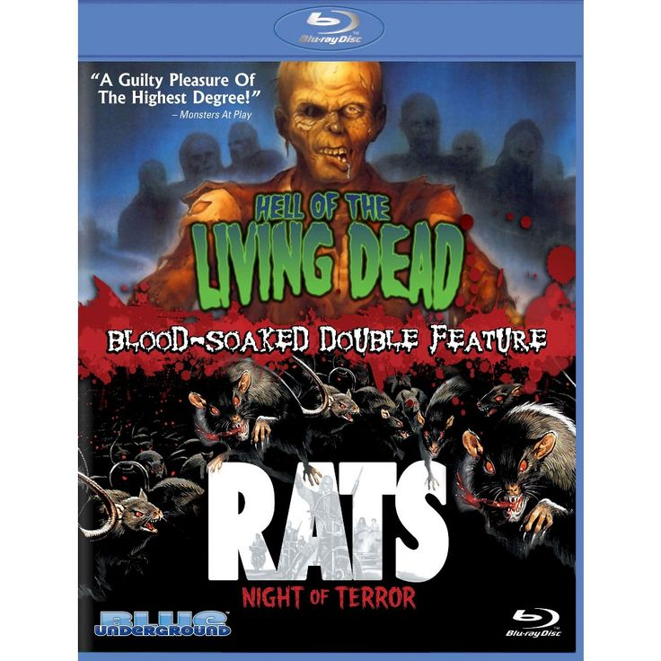 Hell of the Living Dead/Rats: Night of Terror [Blu-ray]