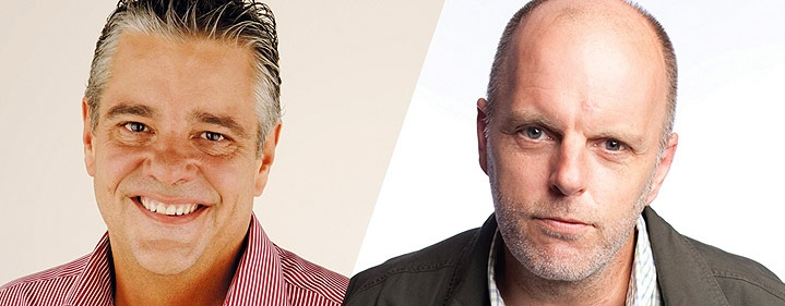 Do not miss Australian comedy legends Mikey Robins and Greg Fleet as they take to the stage with a special guest in tow. Mikey Robins & Greg Fleet, The Courier-Mail Spiegeltent, 23 September 2012.