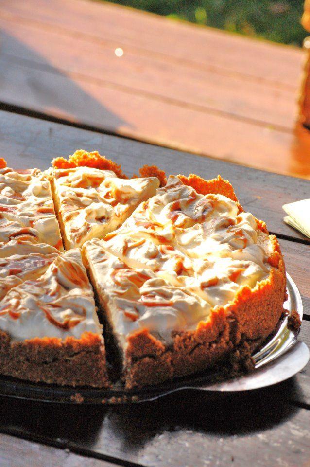 Minu sahver: Õuna-karamelli juustukook