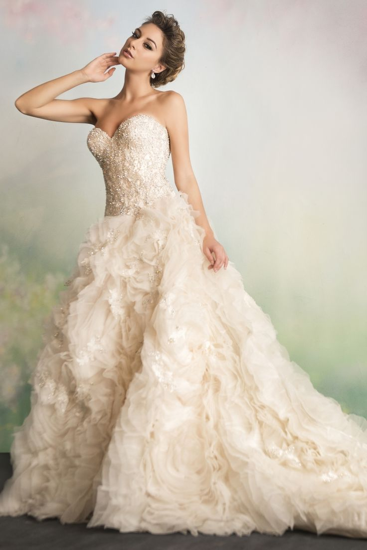 22 Best Wedding Dresses With Sleeves Images On Pinterest