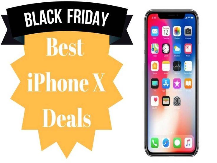 Iphone x black friday deals