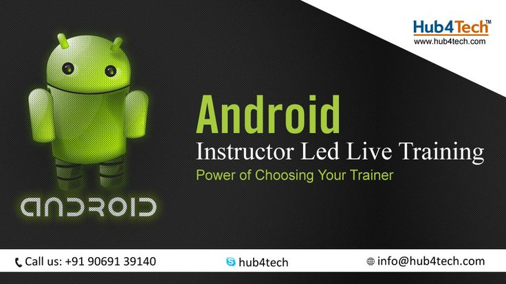 Hub4Tech provides Android training to help you learn Android development more effectively: java, android layout, eclipse, listview, android intent, android fragments, android listview, and more.