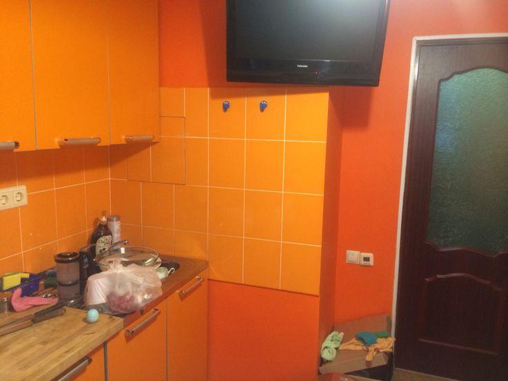 #Kitchen #кухня #было
