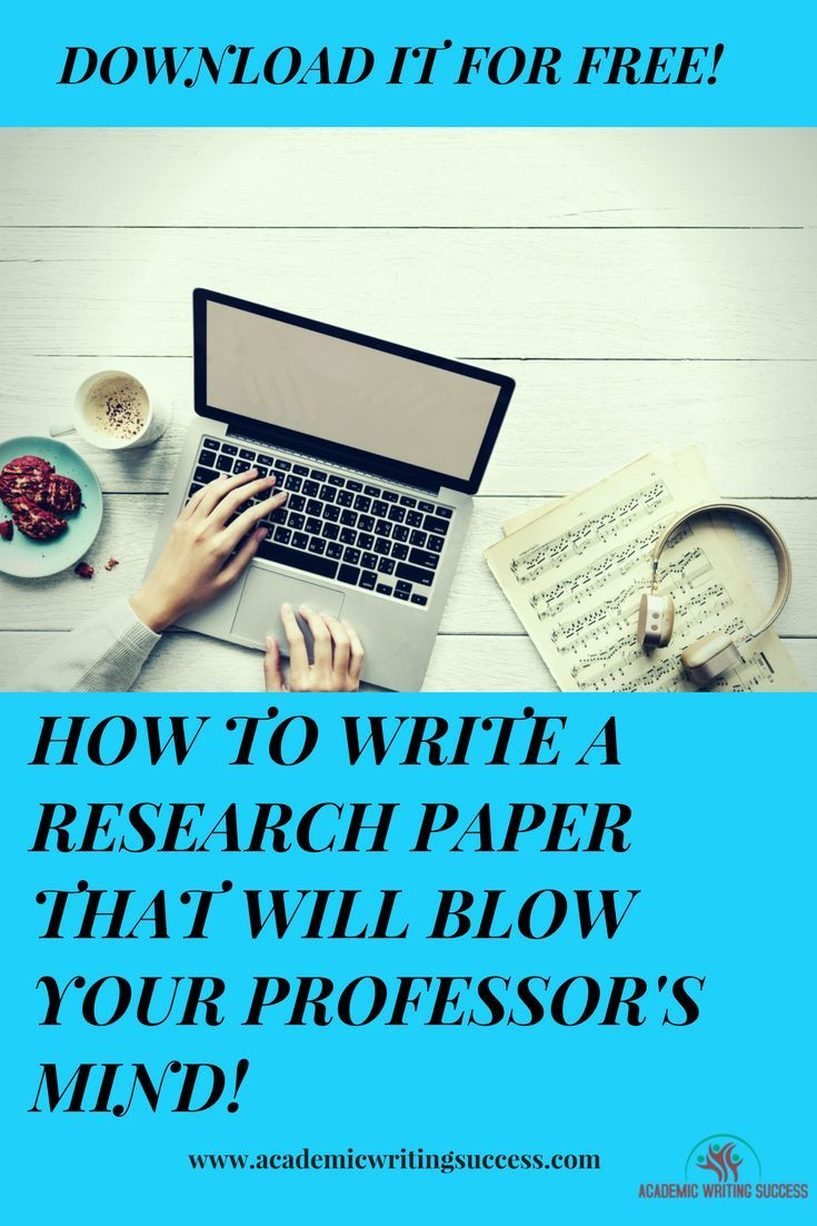 Ultimate Free Guide How To Write A Research Paper Academic Writing Succes Service Help
