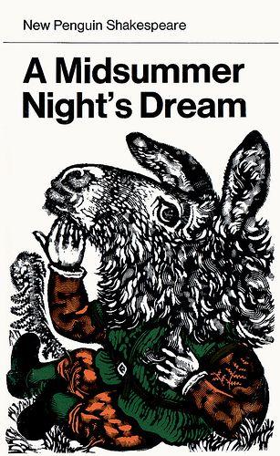 David Gentleman: cover for New Penguin Shakespeare, Midsummer Night's Dream (1975)
