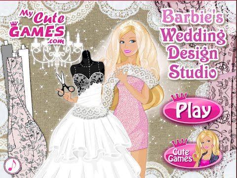 Fabulous Barbie Video Barbie Wedding Dress Up Games http wedding