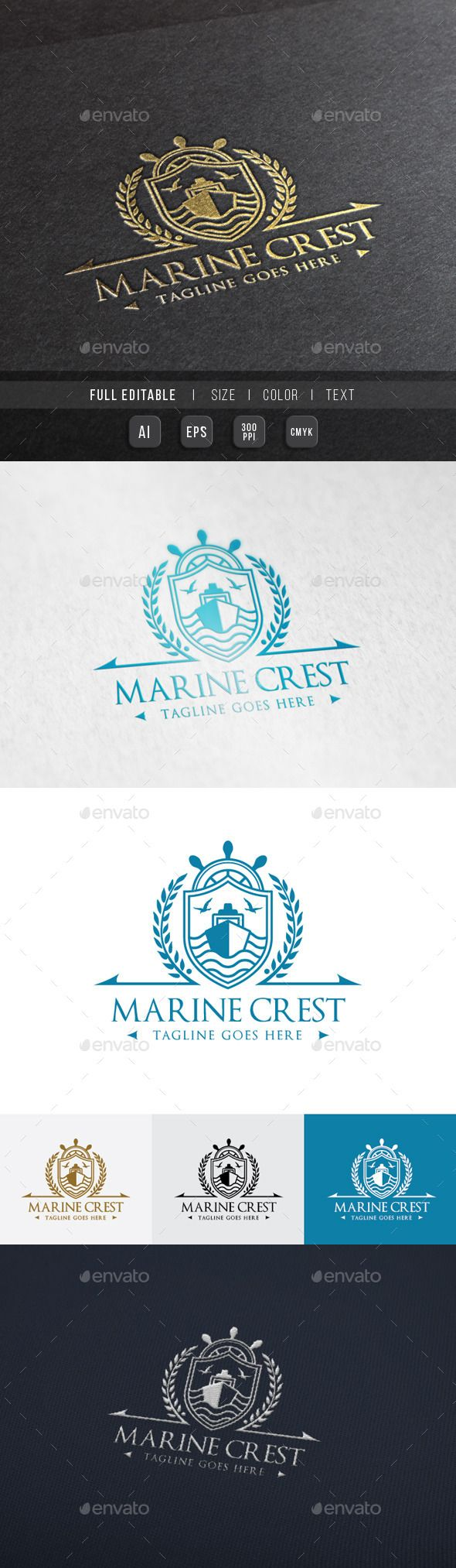 Royal Marine Ship Template #design Download: http://graphicriver.net/item/royal-marine-ship-/10111478?ref=ksioks