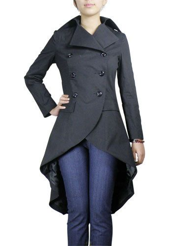 Love this coat.  If it had a hood it would be the most perfect thing ever.