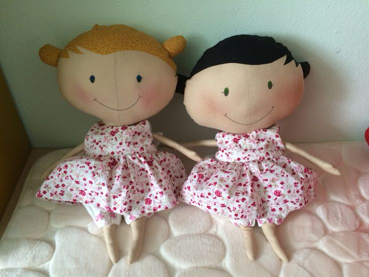 Bambole Tilda per due principesse