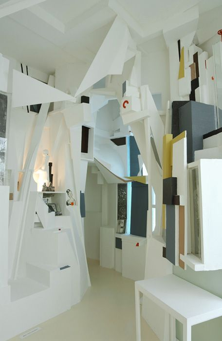 Kurt Schwitters, Merzbau, reconstruction by Peter Bissegger 1981–3 (Sprengel Museum Hanover)