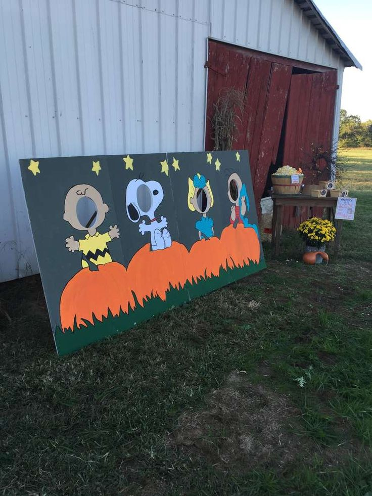 It's The Great Pumpkin Charlie Brown Birthday Party Ideas | Photo 7 of 23 | Catch My Party
