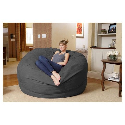 The Original Relax Sack bean bag chair is your ticket to deep relaxation. Relax Sacks are filled with high quality, shredded polyurethane foam. This 6 foot foam sack can fit one adult comfortably. Relax Sacks come with a free liner, and washable designer cover. Select from a variety of colors to fit any décor.  Round Relax Sacks are more than just an ordinary bean bag chair. Relax Sacks are the future for comfortable lounging. Your relaxation time is one of the most important times o...