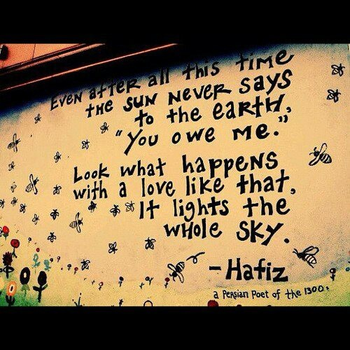 hafiz quotes on gratitude - photo #32