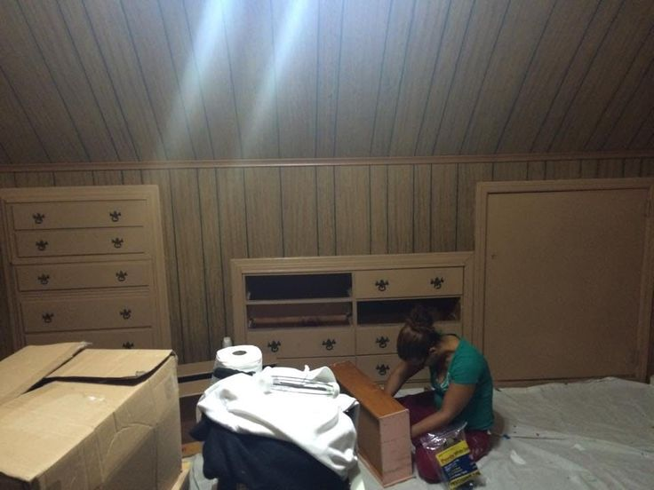 """The """"Faux Wood Paneling Nightmare Ends"""" Makeover — Makeovers: Decorating Project"""