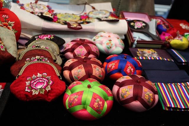 korean embroidery by drkigawa, via Flickr