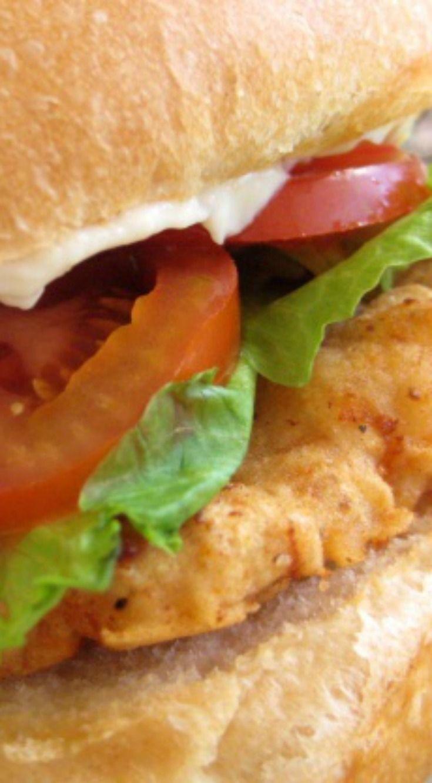 Copycat Wendy's Spicy Chicken Sandwich Recipe