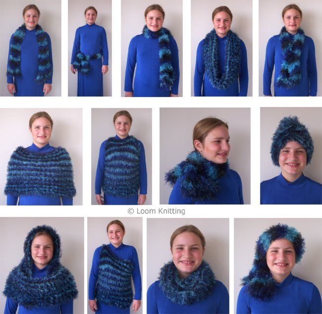 446 Best Loony For Looming Images On Pinterest Knitting Patterns