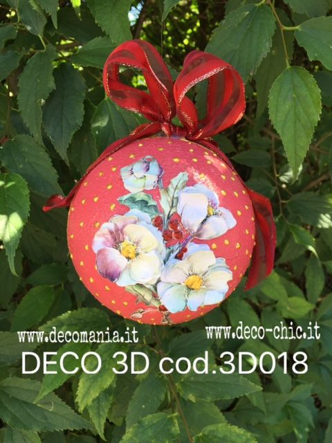 Decoupage tridimensionale con carta DECO 3D cod.TRA018  store online: http://www.deco-chic.it/index.php?main_page=product_info&cPath=56_94_99&products_id=1724