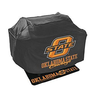 Mr. Bar-B-Q NCAA® Oklahoma State Cowboys Grill Cover and Grill Mat Set