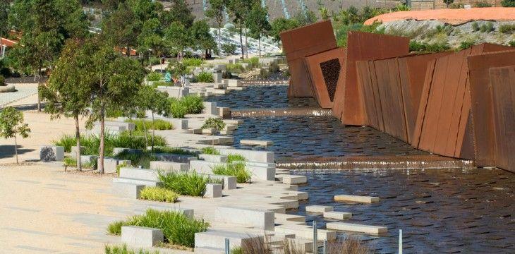 The Australian Garden  Taylor Cullity Lethlean~Paul Thompson  Royal Botanic Gardens~Cambourne~Victoria