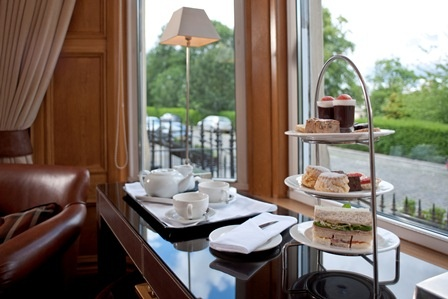 Afternoon tea at Channings.