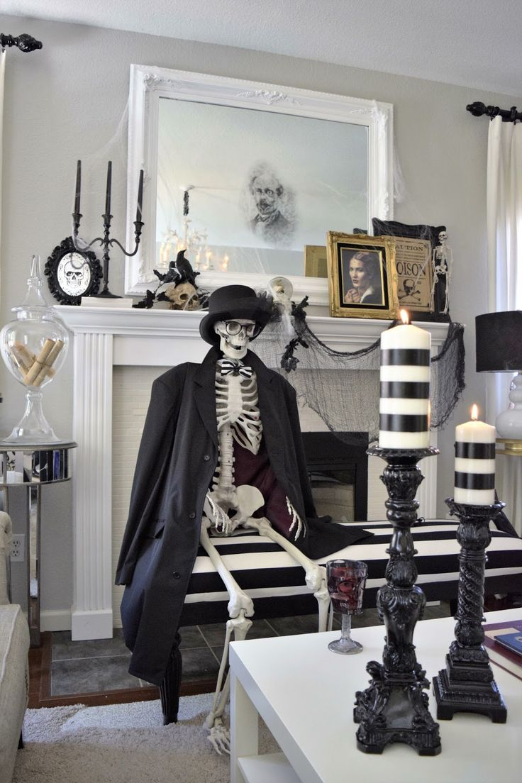 a haunted halloween party is all about the details - Indoor Halloween Decoration Ideas