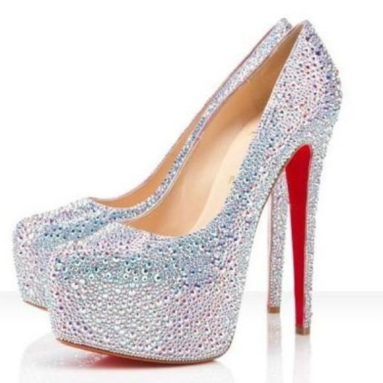 2012 Christian Louboutin Strass Daffodil glitter pumps. i just died: Crystals, Red Bottoms, Dreams, Style, Wedding Shoes, Platform Pumps, Christian Louboutin Shoes, High Heels, Christianlouboutin