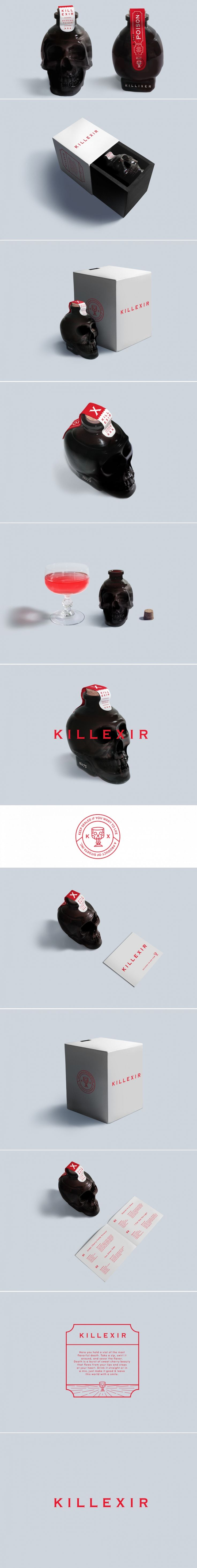 Concept: Killexir — The Dieline | Packaging & Branding Design & Innovation News