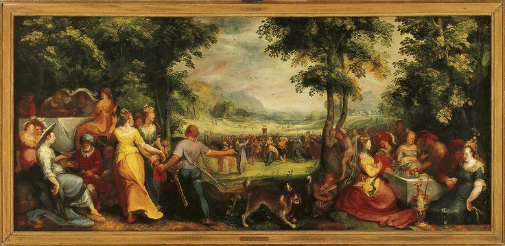 De dans om het gouden kalf - Karel van Mander