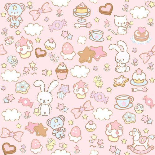 Kawaii Cat Background Cat Cute Chocolate Kawaii
