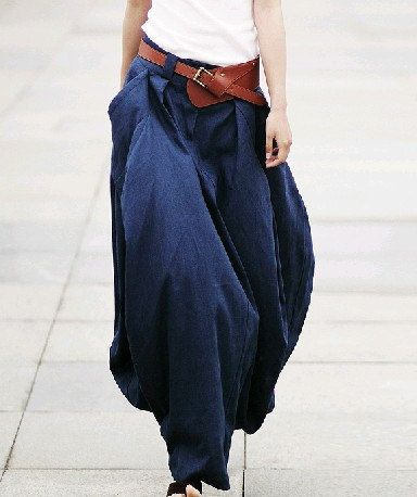 Luuki...skirt or pants? don't know but I like it!