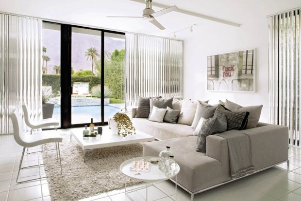 GREAT LIVING ROOMS: Palm Springs Home. 8/8/2012 via @Dee Armstrong Hobbs Home + Design Magazine