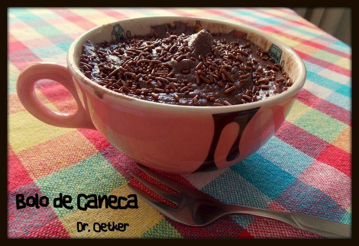 Testando - Bolo de Caneca (Dr Oetcker)  http://www.artecaseirarestaurante.com.br/blog/0-84/Testando+-+Bolo+de+Caneca+(Dr+Oetker)