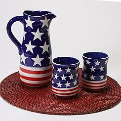 Rustic Pitcher and T..