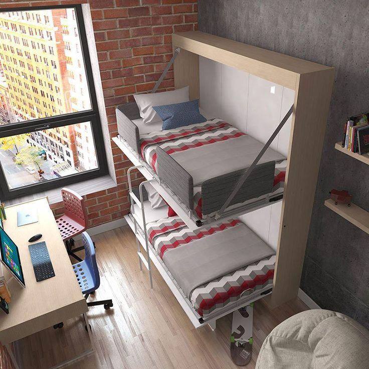Fancy | Twin Wall Bunk Bed