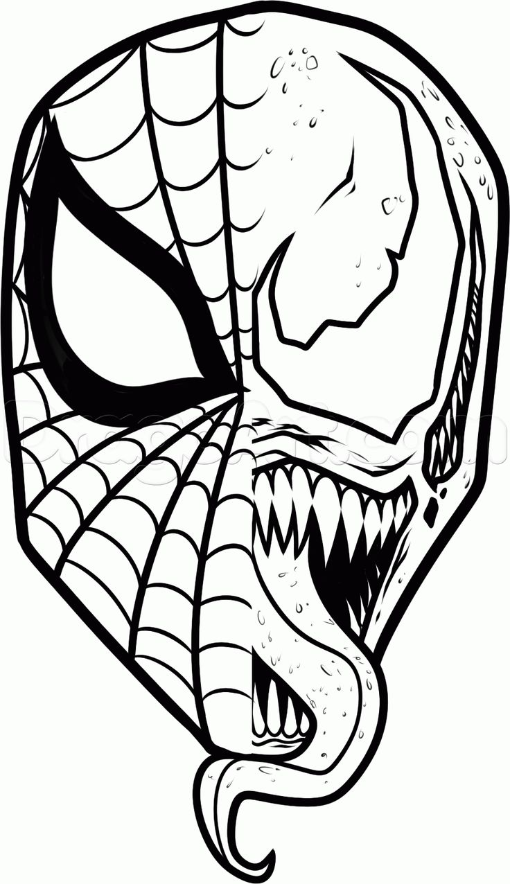 76 Best My Coloring Book Images On Pinterest Drawings Coloring - venom coloring pages