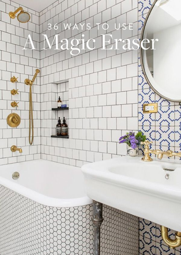 36 things you can use a magic eraser on from the kitchen to the bathroom
