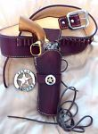 WESTERN COWBOY HOLSTER OX BLOOD 5.5 COWBOY FAST DRAW SINGLE ACTION CFDA in Sporting Goods, Hunting, Holsters, Belts & Pouches | eBay
