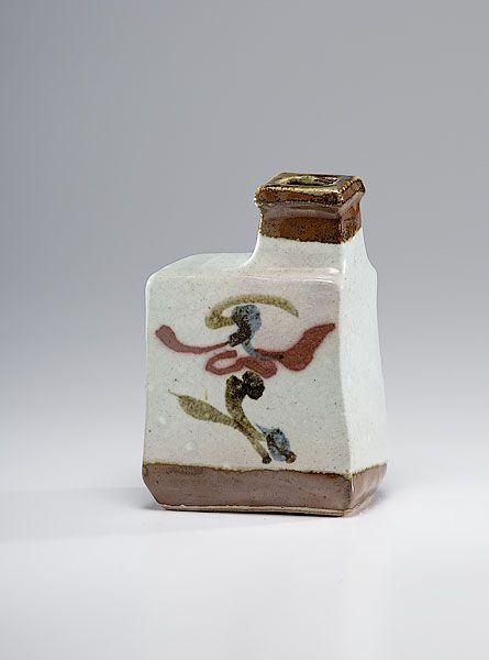 Kanjiro Kawai, Stoneware Bottle Vase (2010, Cowans+Clark+DelVecchio Modern Ceramics)