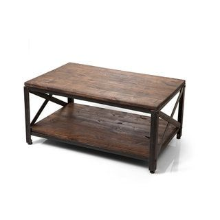 Shop for Ironwood Farmhouse Industrial Coffee Table. Get free shipping at Overstock.com - Your Online Furniture Outlet Store! Get 5% in rewards with Club O!
