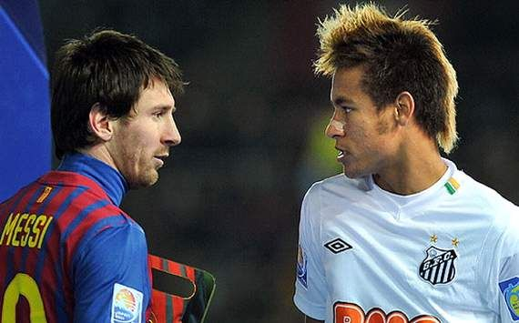 Messi vs Neymar  My two favorite soccer players